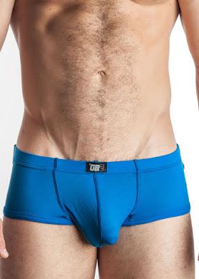 GBGB Mens Underwear Mike Trunk Light Blue