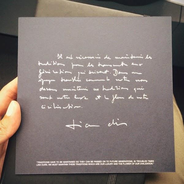 Dior Homme Spring Summer 2015 - Paris Fashion Week SS2015 #PFW