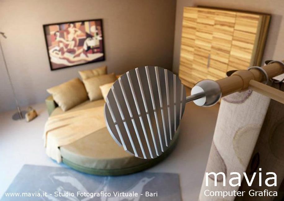 Bastoni per tende da interni moderni per camera da letto - fotografie ...