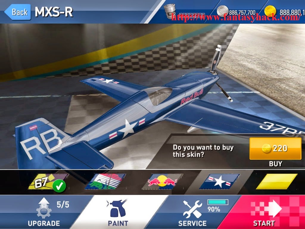 Red Bull Air Race The Game Hack V1.3