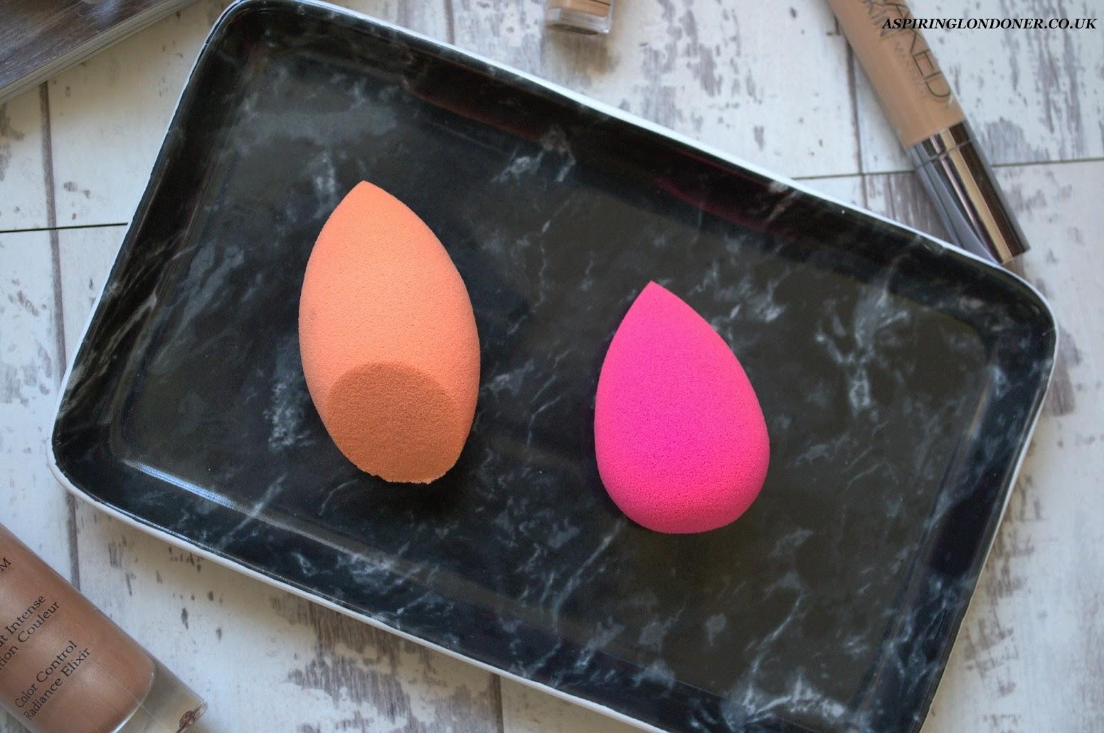 Beautyblender VS Real Techniques Miracle Complexion Sponge Comparison - Aspiring Londoner