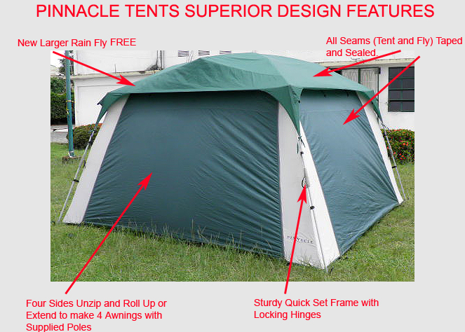SCREEN TENT u2013 NEW INSTANT SCREEN TENT DESIGN WITH ALL THE FEATURES YOU ASKED FOR & Happy Campers - Pinnacle Tents: SCREEN TENT u2013 NEW INSTANT SCREEN ...
