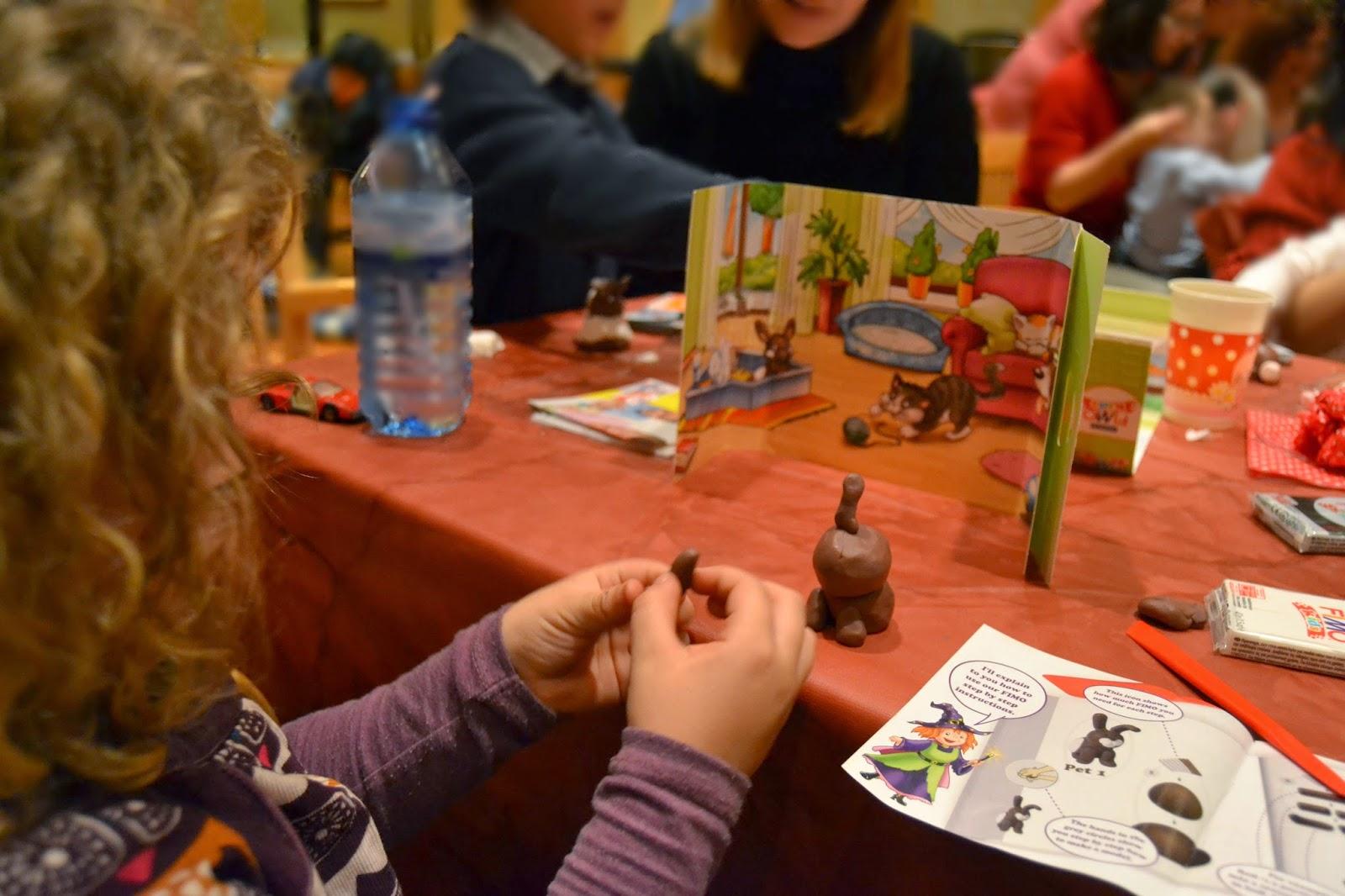 #creatusjuguetes taller FIMO Kids Madrid blog infantil mama de noa