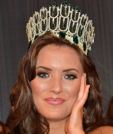 Miss Ireland 2011 Winner Holly Carpenter
