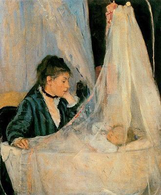 El bressol (Berthe Morisot)