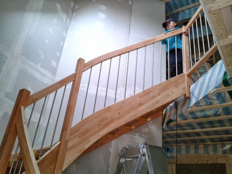 Allkauf haus familie schulz: wir haben eine treppe