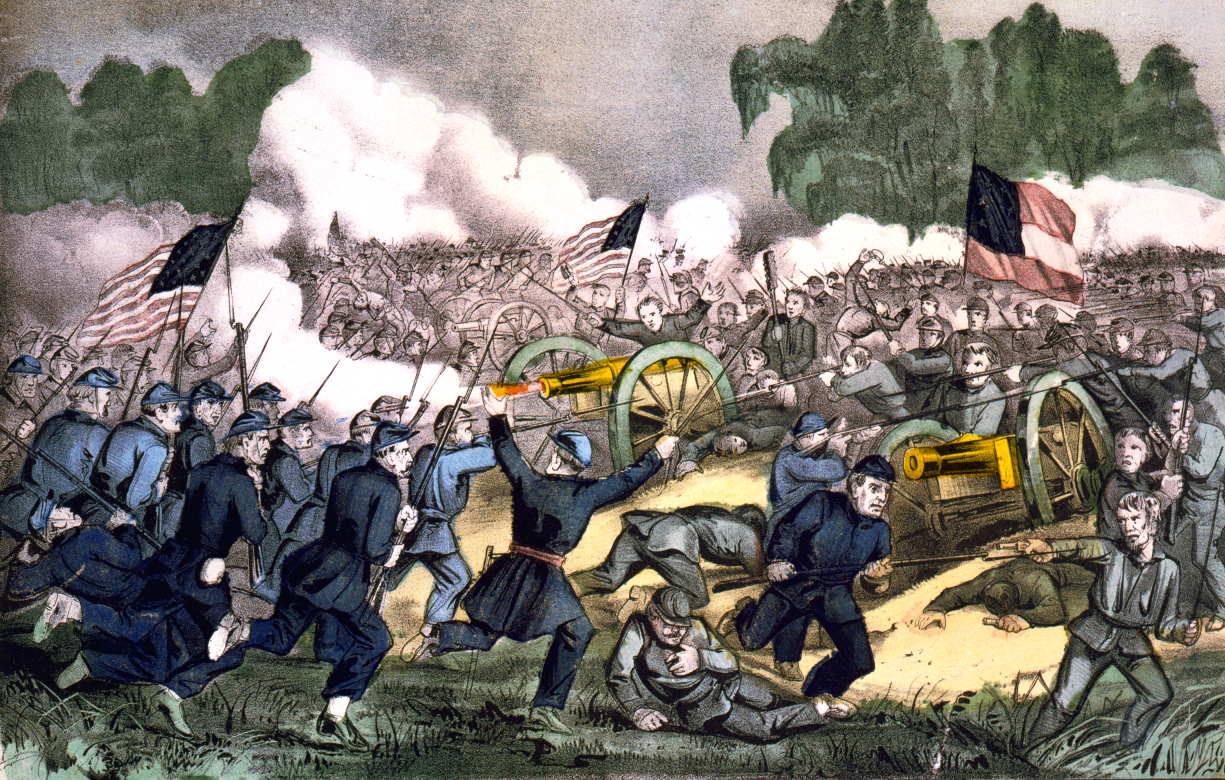 Battle of Gettysburg clip art