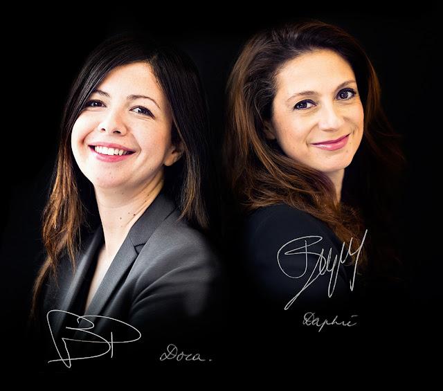 Daphne Bugey e Dora Baghriche-Arnaud