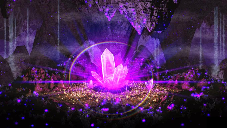 Cristal Quântico Violeta