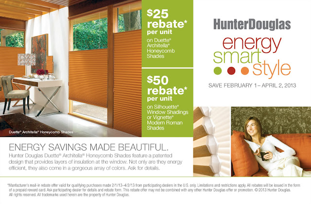Hunter Douglas February Savings Event! Posted 7th February 2013 By Jonathons  Coastal Living