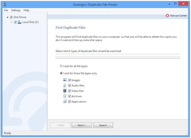 Download Auslogics Duplicate File Finder 5.1.1
