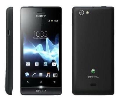 Harga handphone Sony Xperia Miro ST23i