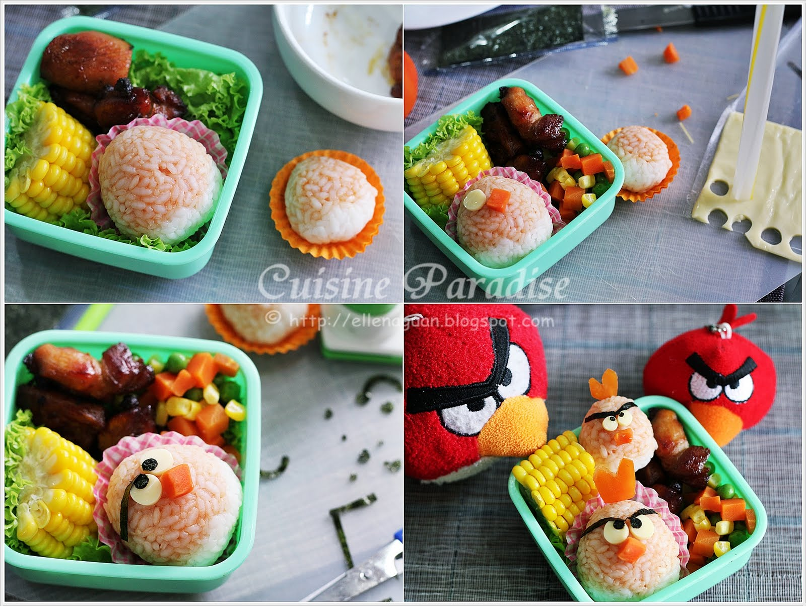 If You Are Keen To Do An Red Angry Bird Bento For Your Friends Or Kids During This June School Holiday Can Take A Look At Featured Recipe And