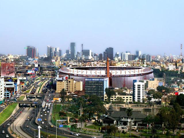Vista de la Lima más moderna