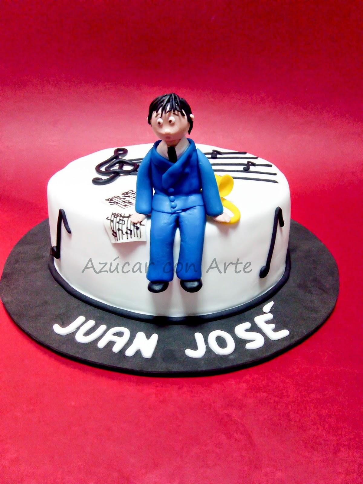 tarta trombon, music cake, tarta sin gluten, gluten free cake | azucar con arte