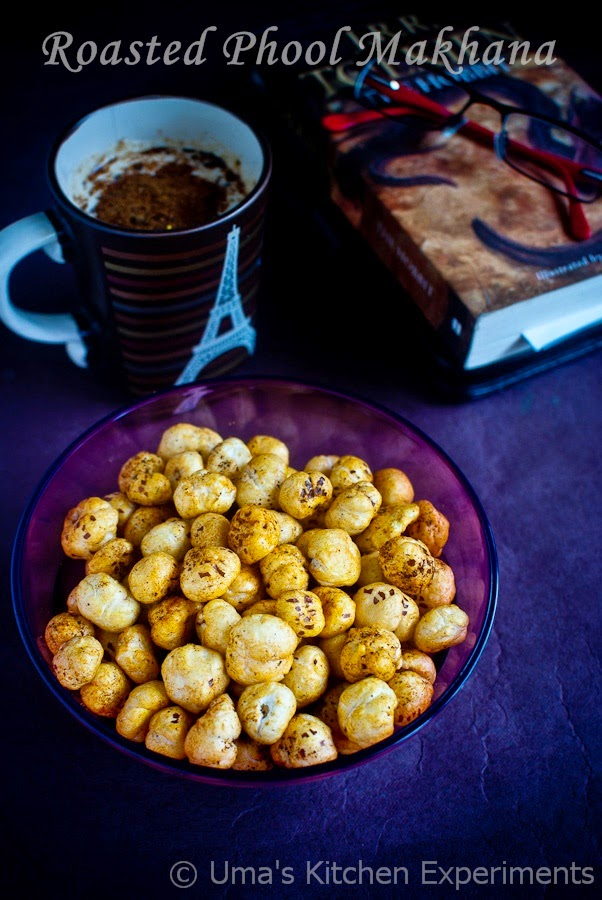 Roasted Lotus seeds recipe