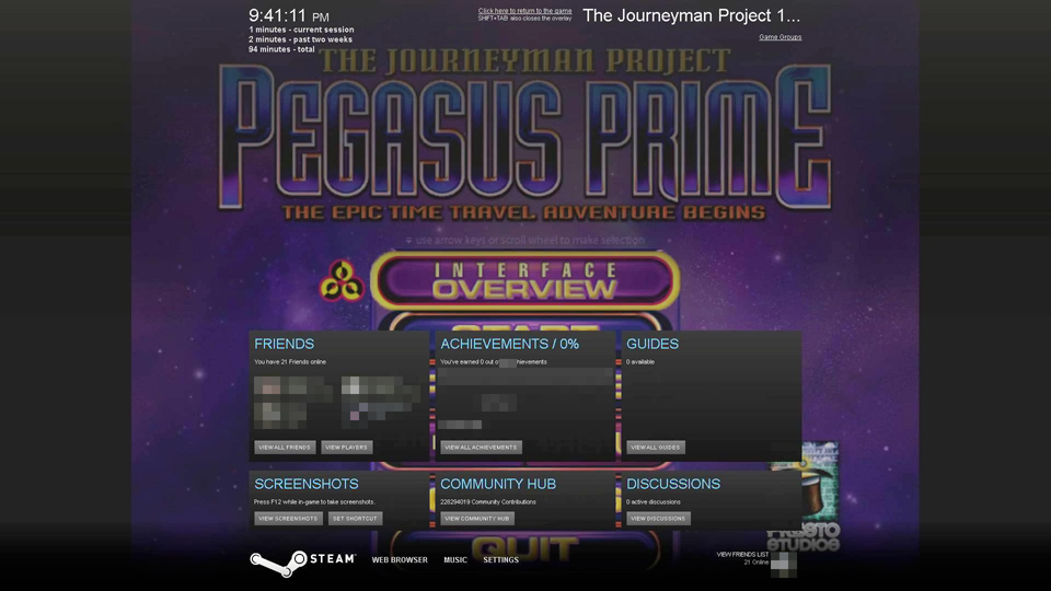 journeyman project 3 Developer: presto studios publisher: red orb entertainment version reviewed: the journeyman project 3: legacy of time for windows 98 price: $599.