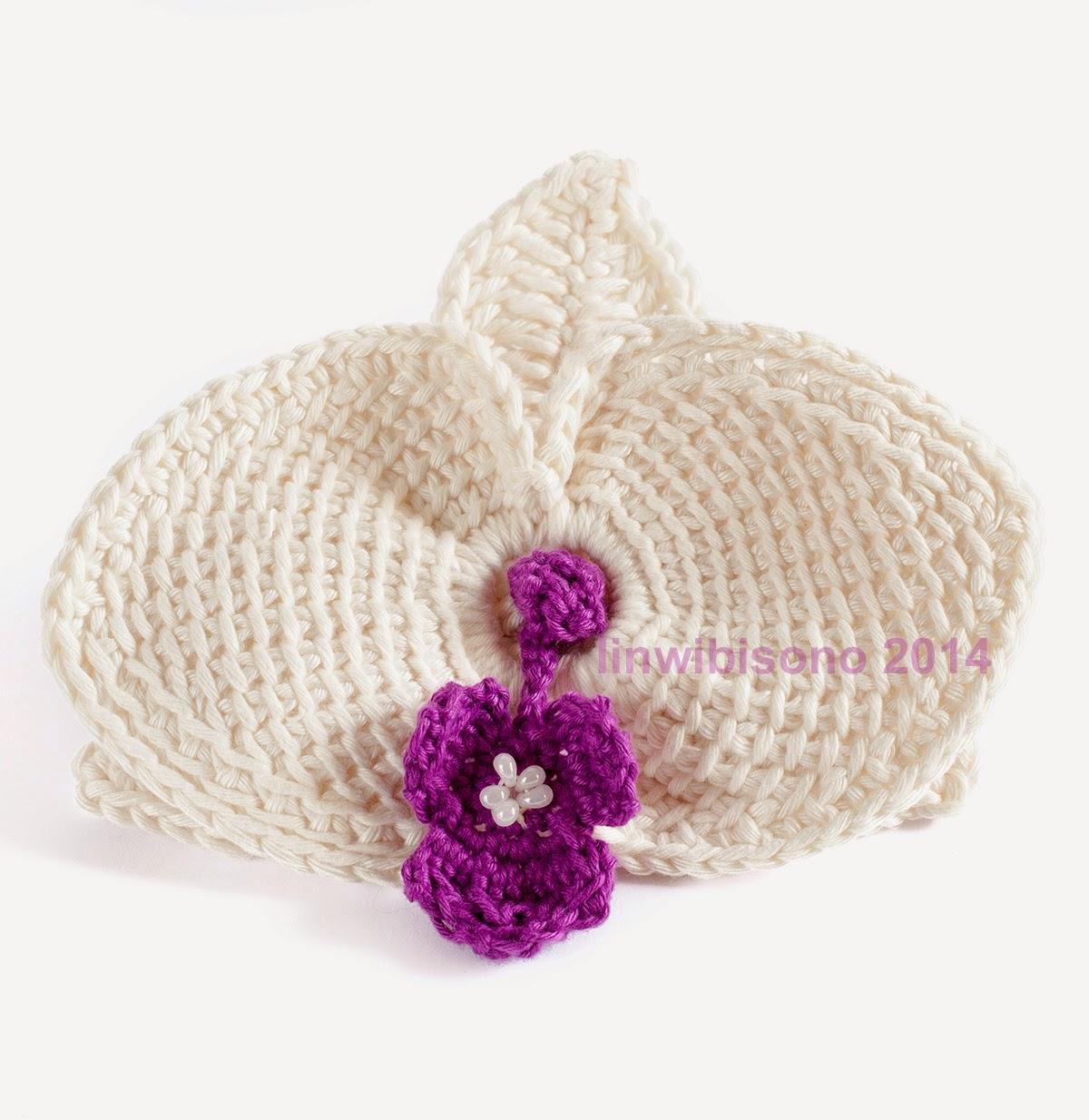 Crochet orchid flower pattern squareone for 17 crochet rockstar one flower a week 1 ccuart Gallery