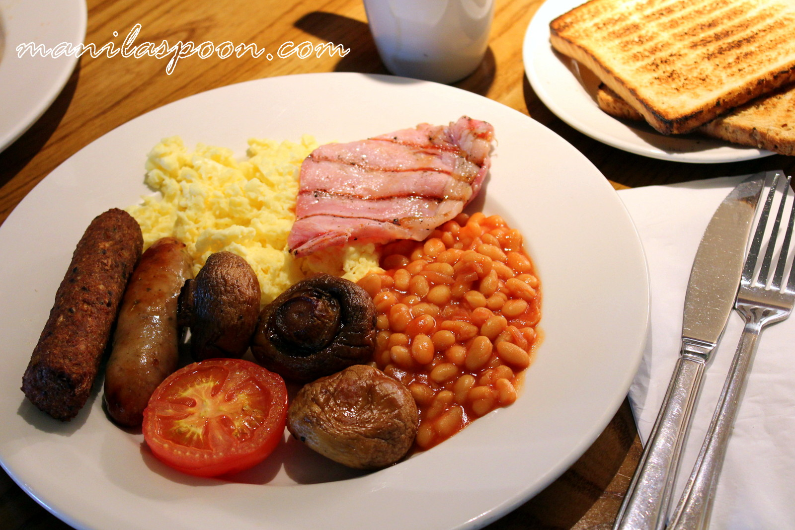 Travels and Travails and Full English Breakfast | Manila Spoon