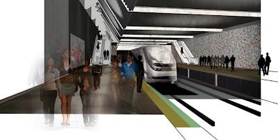 metrô curitiba linha azul 2016