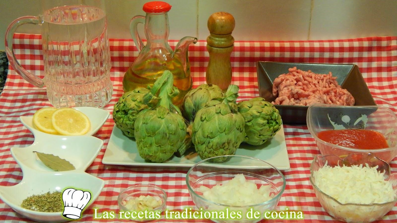Receta fácil de alcachofas rellenas