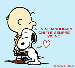 Non Abbandonarlo!