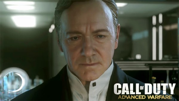 Kevin Spacey interpreta a un personaje importante en Call of Duty: Advance War