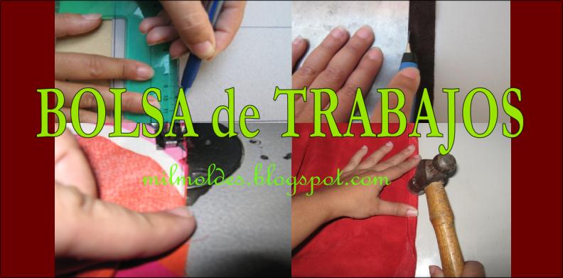 Moldes de marroquiner a mil moldes bolsa de trabajo for Ofertas de empleo en fabricas