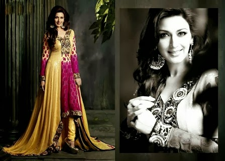 Party Wear Anarkali Suits 2014