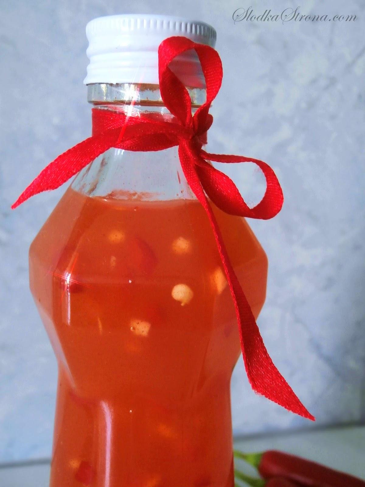 Domowy Słodki Sos Chili - Przepis - Słodka Strona