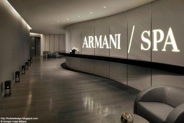 Les plus beaux hotels design du monde armani hotel milano for Design hotel a milano