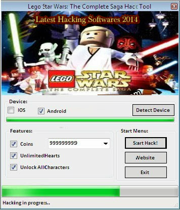 LEGO Star Wars: The Complete Saga Hack Apk (Cheats ...