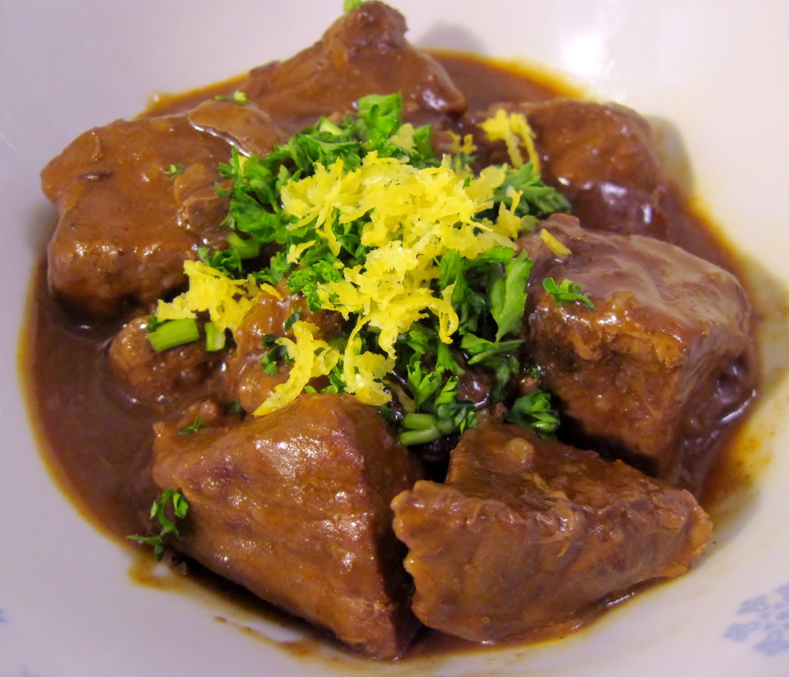Gloria's German Beef Gulasch