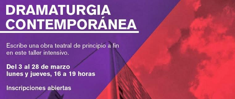 Taller intensivo sobre Dramaturgia Contemporánea en Tlatelolco
