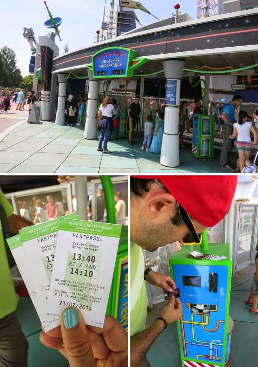 Trucos Disney - Sacar el Fasspast con las entradas al parque