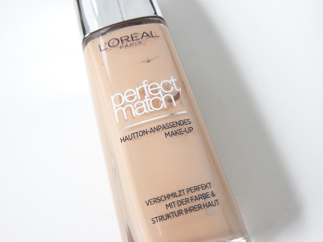 L'Oréal Perfect Match Foundation