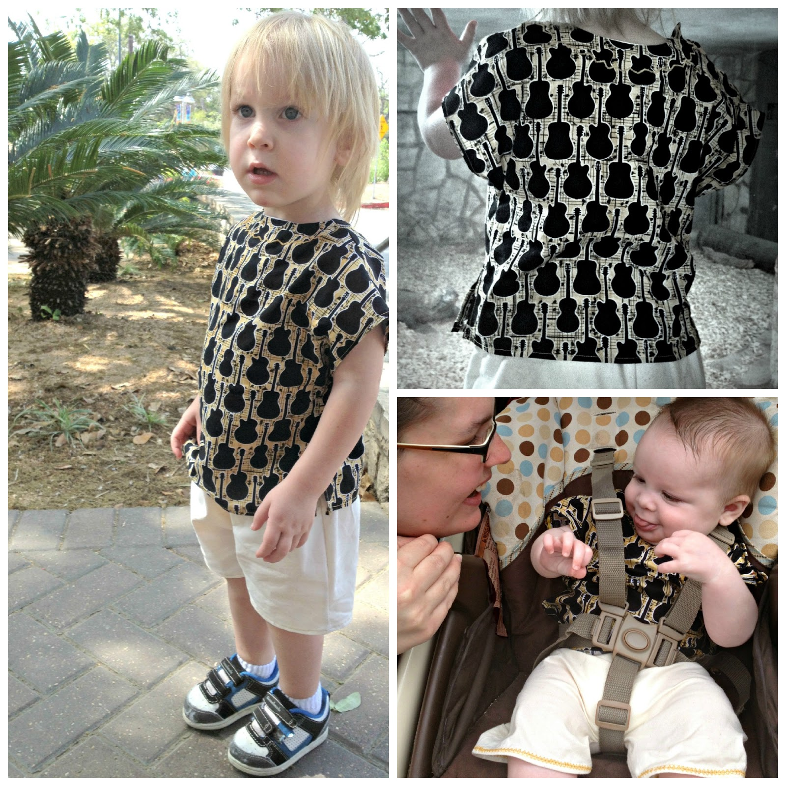 fresh juniper Free Pattern for Baby Shorts and Pants Matching