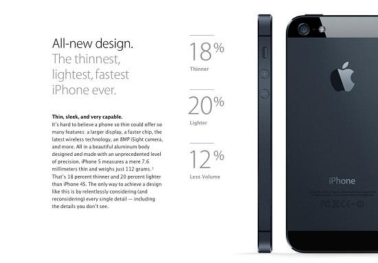 PERBANDINGAN iPhone 5, iPhone 4S, iPhone 4