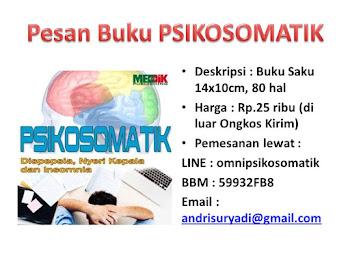 Buku seri Psikosomatik terbaru