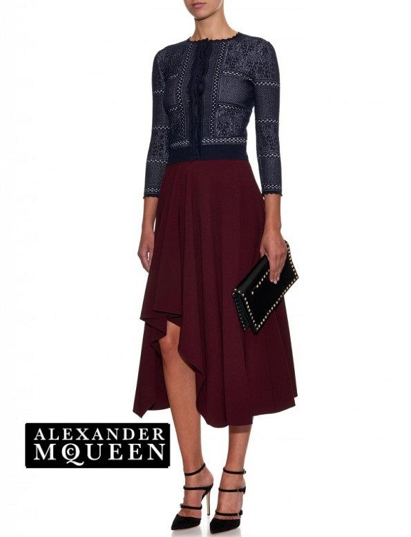 Princess Mary's Alexander McQueen skirt