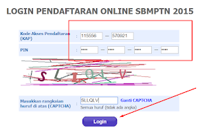 CARA MENDAFTAR ONLINE SBMPTN 2015-5