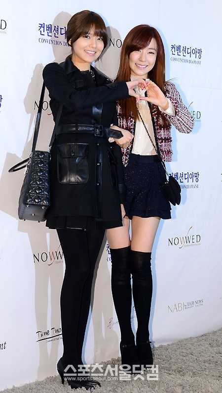 Sooyoung dan Tiffany SNSD Hadir di Pernikahan Hong Rok-gi 01