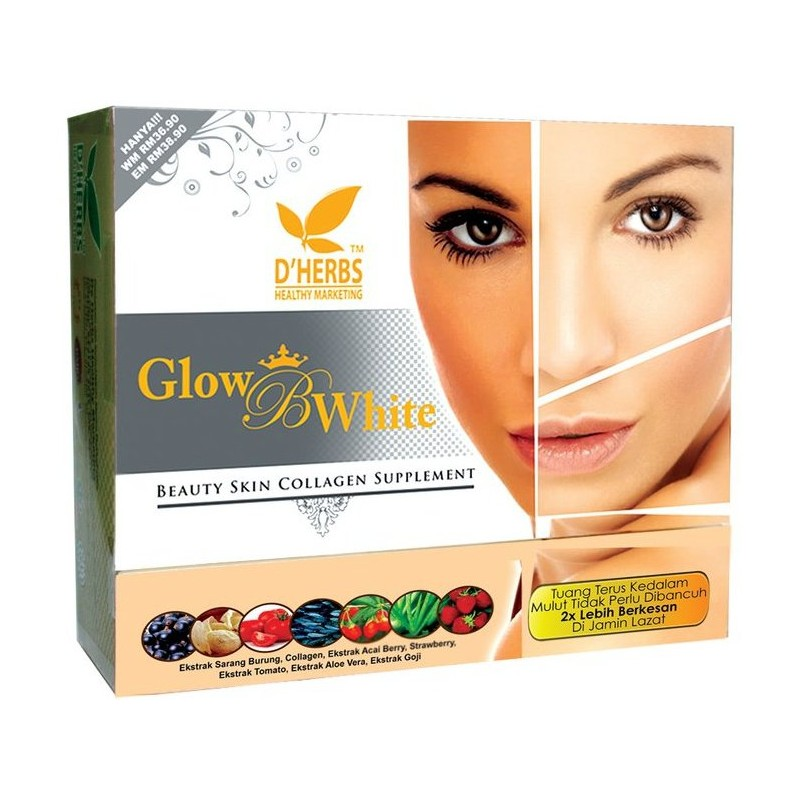GLOW B EXTRA WHITE COLLAGEN