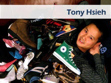 Tony Hsieh - ceo e fundador da Zappos
