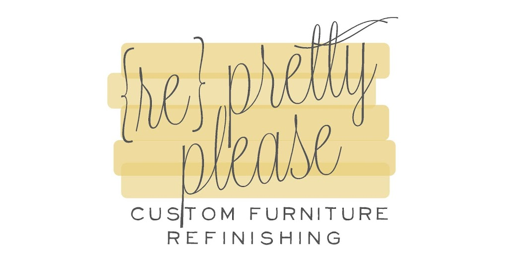 {re}pretty please -- utah furniture refinishing