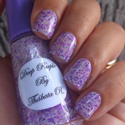 esmalte lilás