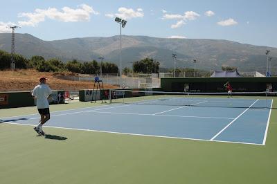 Inicio del X Open de tenis ciudad de Béjar