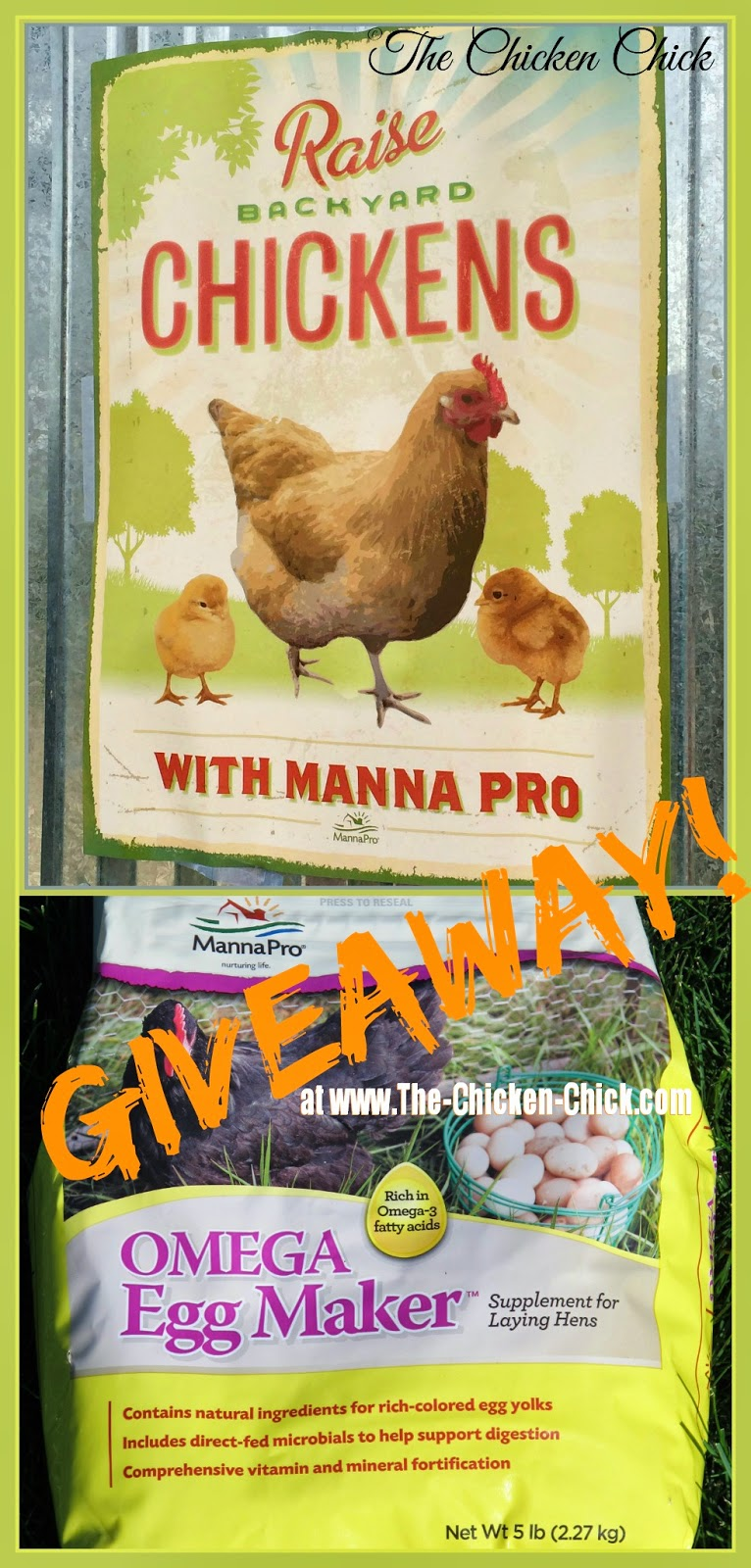 Manna Pro Poultry Prize Package Giveaway