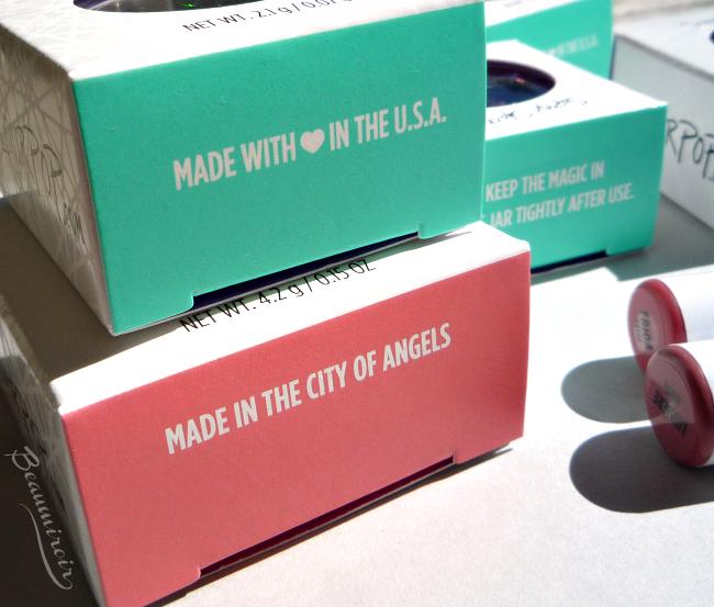 ColourPop makeup: packaging