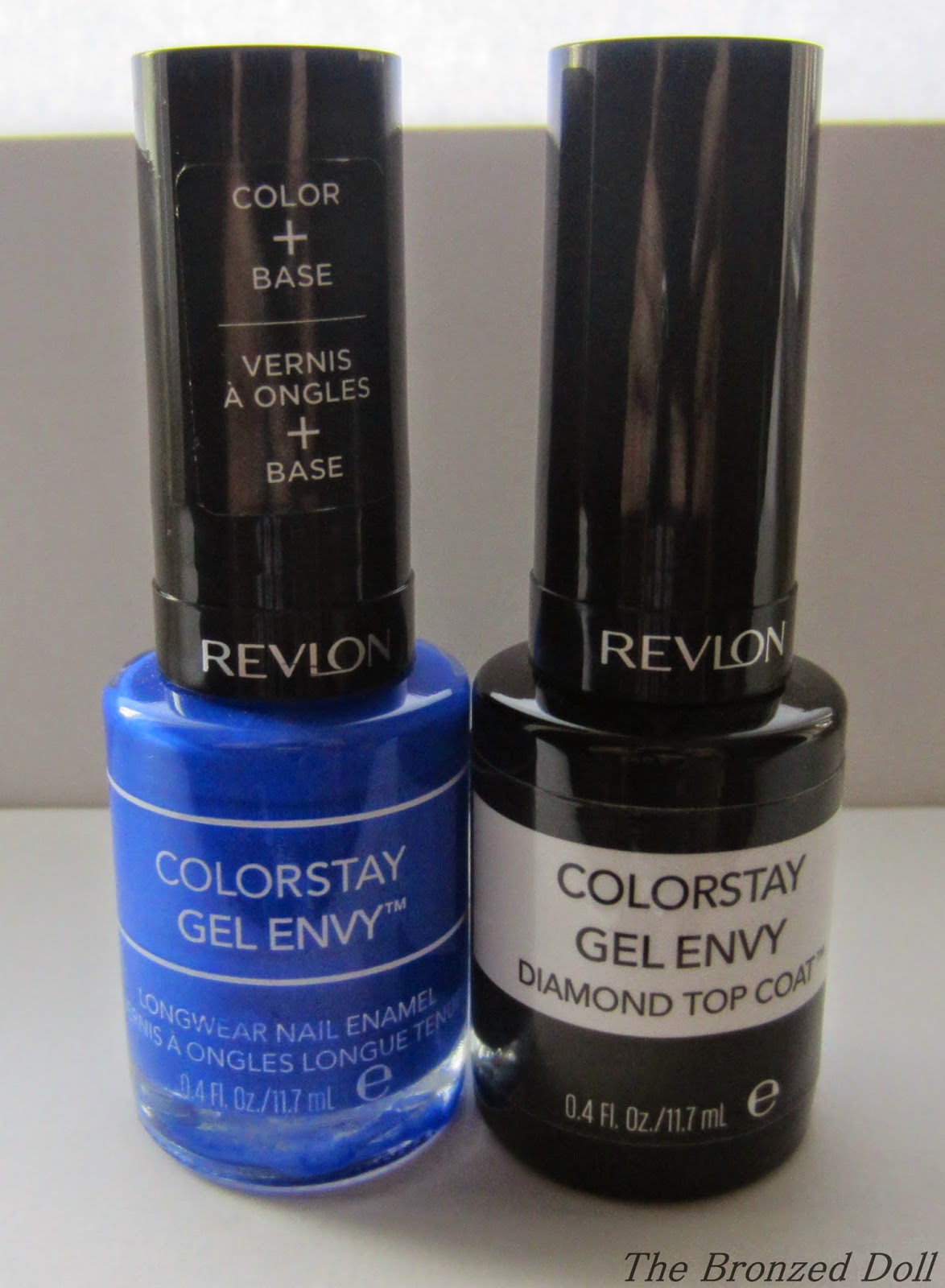 Revlon gel envy wild card and top coat